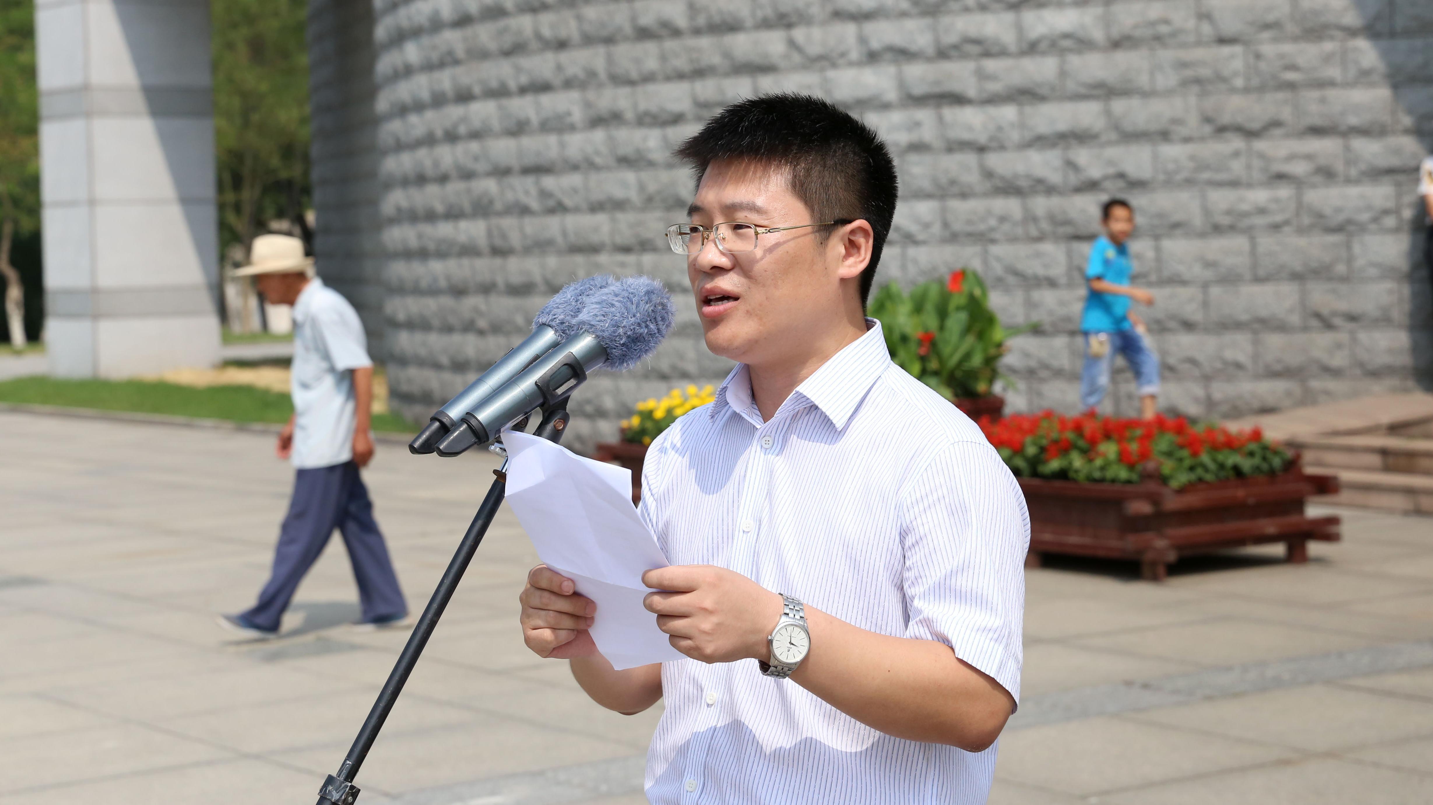 新华(辽宁)小记者团启动仪式在抚顺雷锋纪念馆举行