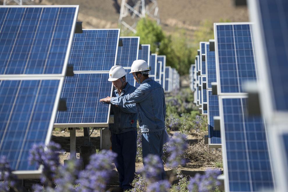 西藏山南光伏产业并网发电再发力