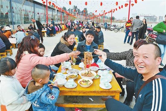 晋宁举办民间民俗文化米线节