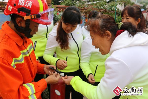 普洱景东构建社区消防安全防控立体化防线