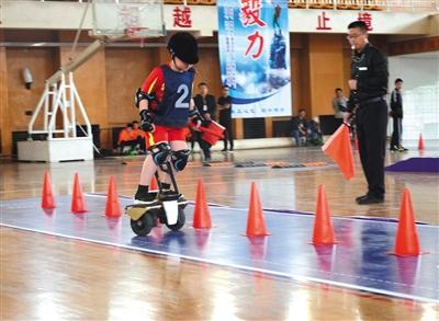 首届全国青少年职业机器人运动基础大赛闭幕