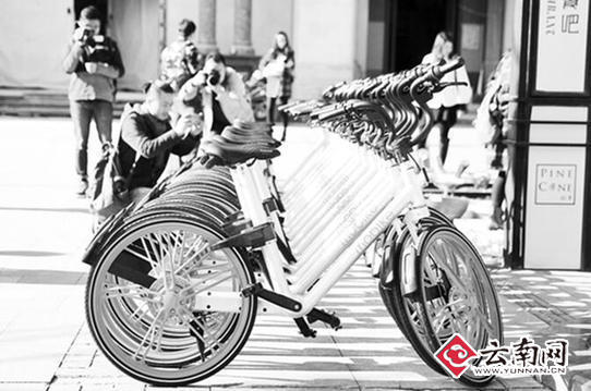 昆明首批15000辆公共自行车下月上路