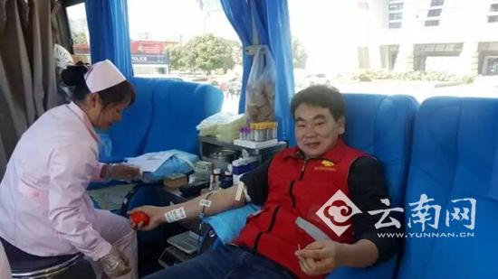 第二届昆明市公务员无偿献血月启动