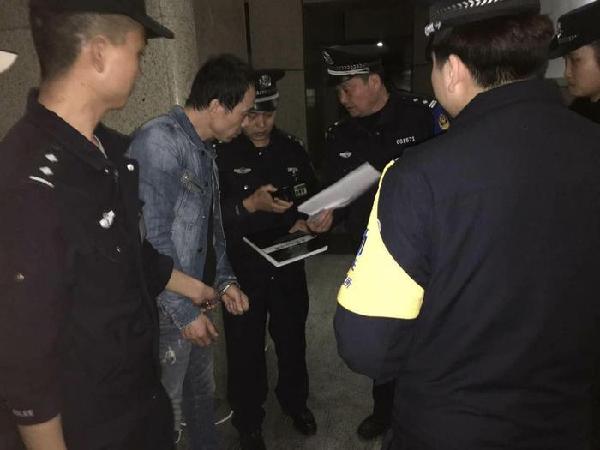 男子非法储存500公斤炸药 逃至陕西躲藏被抓获