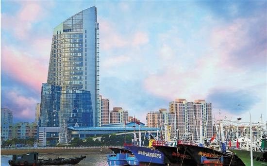"""""""普陀湾众创码头""""为创业者扬起风帆 创客码头 停靠梦想"""