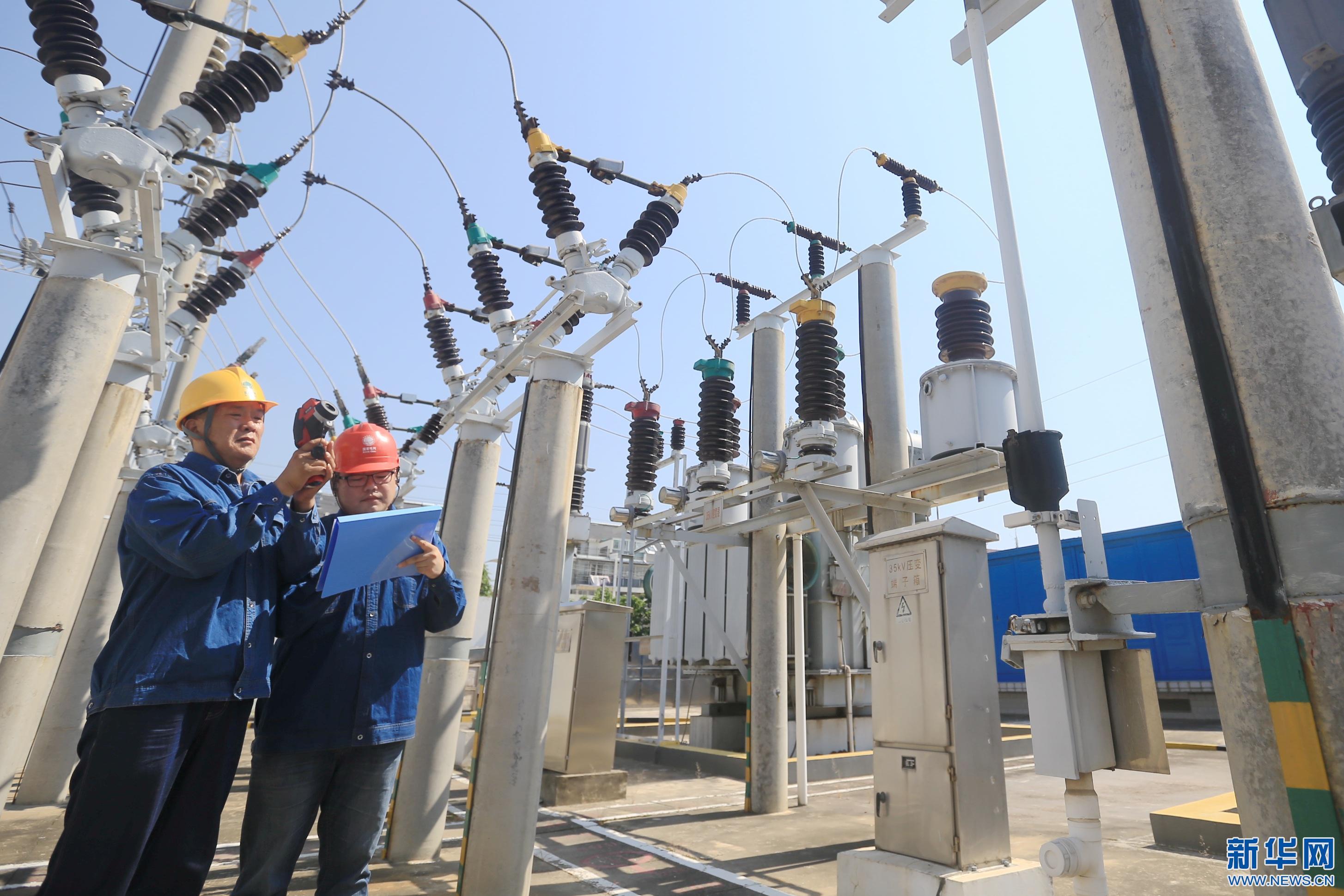 红外测温 保高温电网安全运行