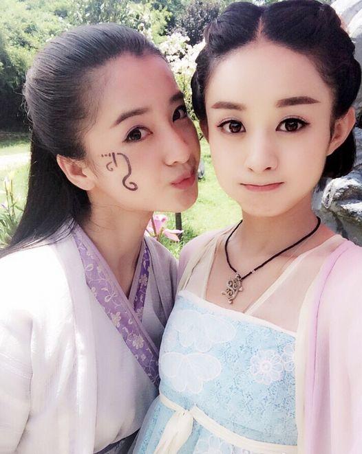 赵丽颖替身美翻 刘亦菲、陈妍希、刘诗诗、成