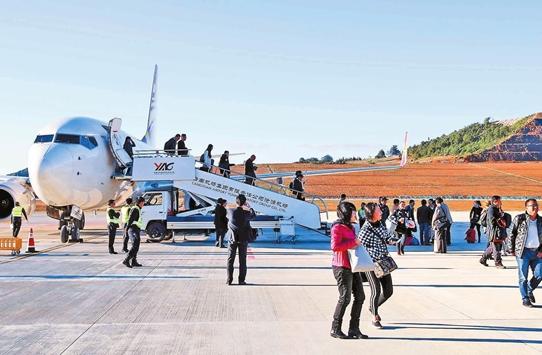 沧源机场助推经济发展