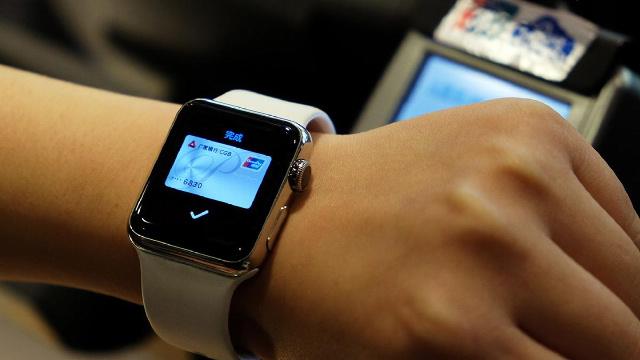 Apple Pay今天正式上線 只需一兩秒鐘就完成支付