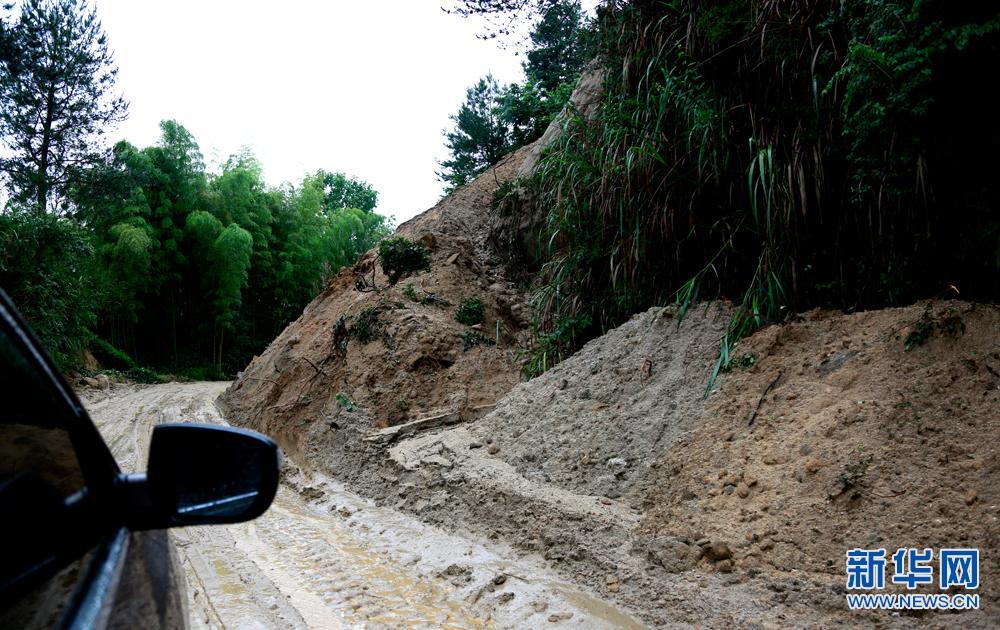 外围投注网站岳西遭暴雨袭击 多处山体滑坡道路受阻