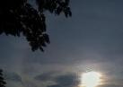 鹰潭上空现日晕奇观
