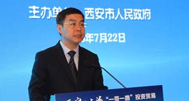 上官吉庆上海推介 助推丝路经济带金融中心建设