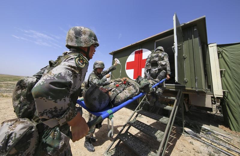 野战医疗队锤炼卫勤保障硬功