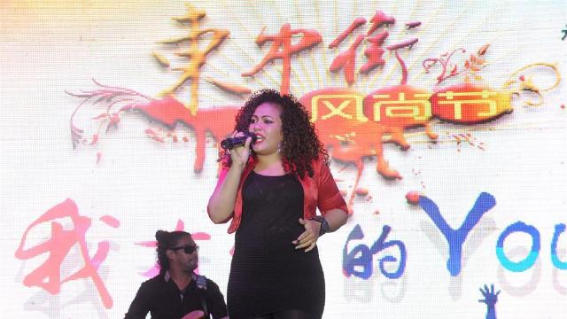 沈陽東中街風尚節開幕