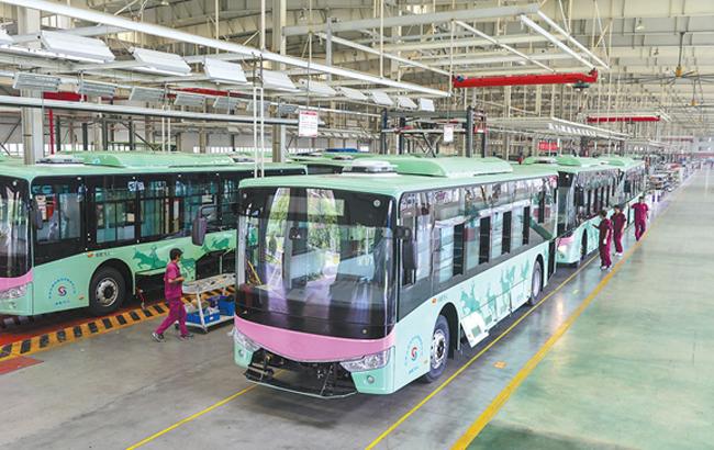 安徽新能源客车批量进京