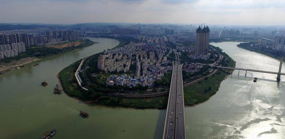 """【""""飞阅""""中国】纵观邕城跨江大桥"""