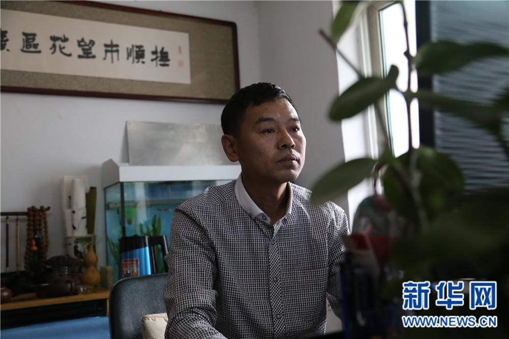 (网络媒体走转改)武广轶:帮助他人 快乐自己