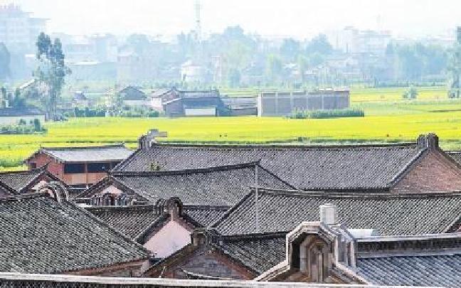 大理巍山东莲花村生态和文化风貌有特色