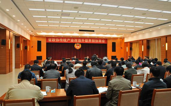 安徽省政协举行传统产业改造升级界别协商会