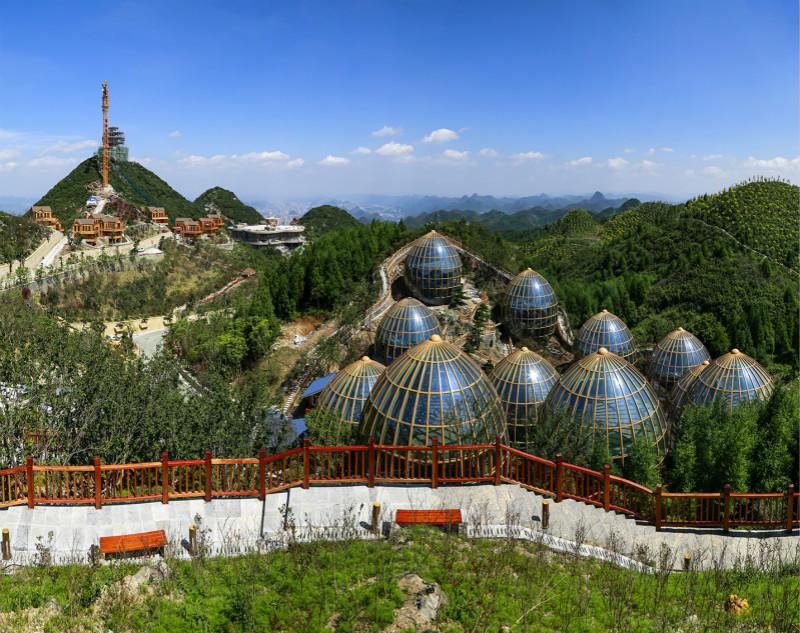 梅花山国际度假区:坐看美景享受自然的宁静