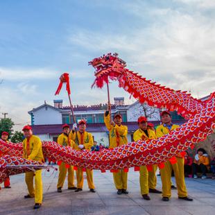 石塘传统文艺活动—舞龙灯