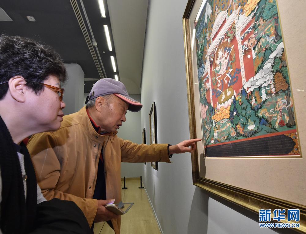 西藏唐卡艺术精品进京