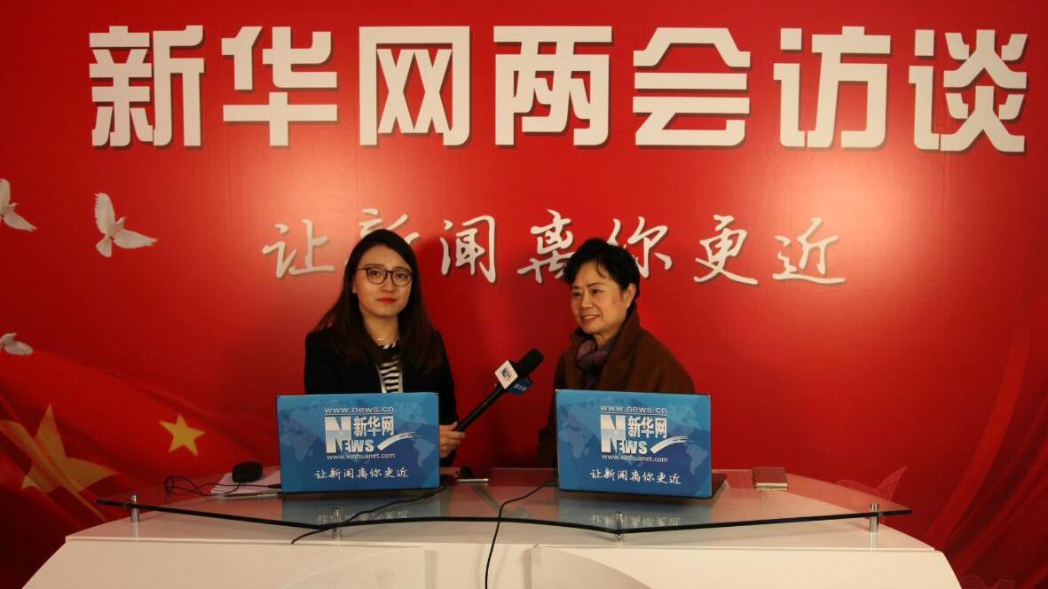 辽宁省政协委员、沈阳麦金利公司董事长许慕侠接受新华网专访