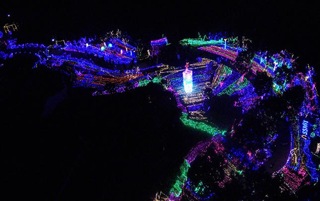 元宵夜,不夜城!航拍杭州景区闹元宵