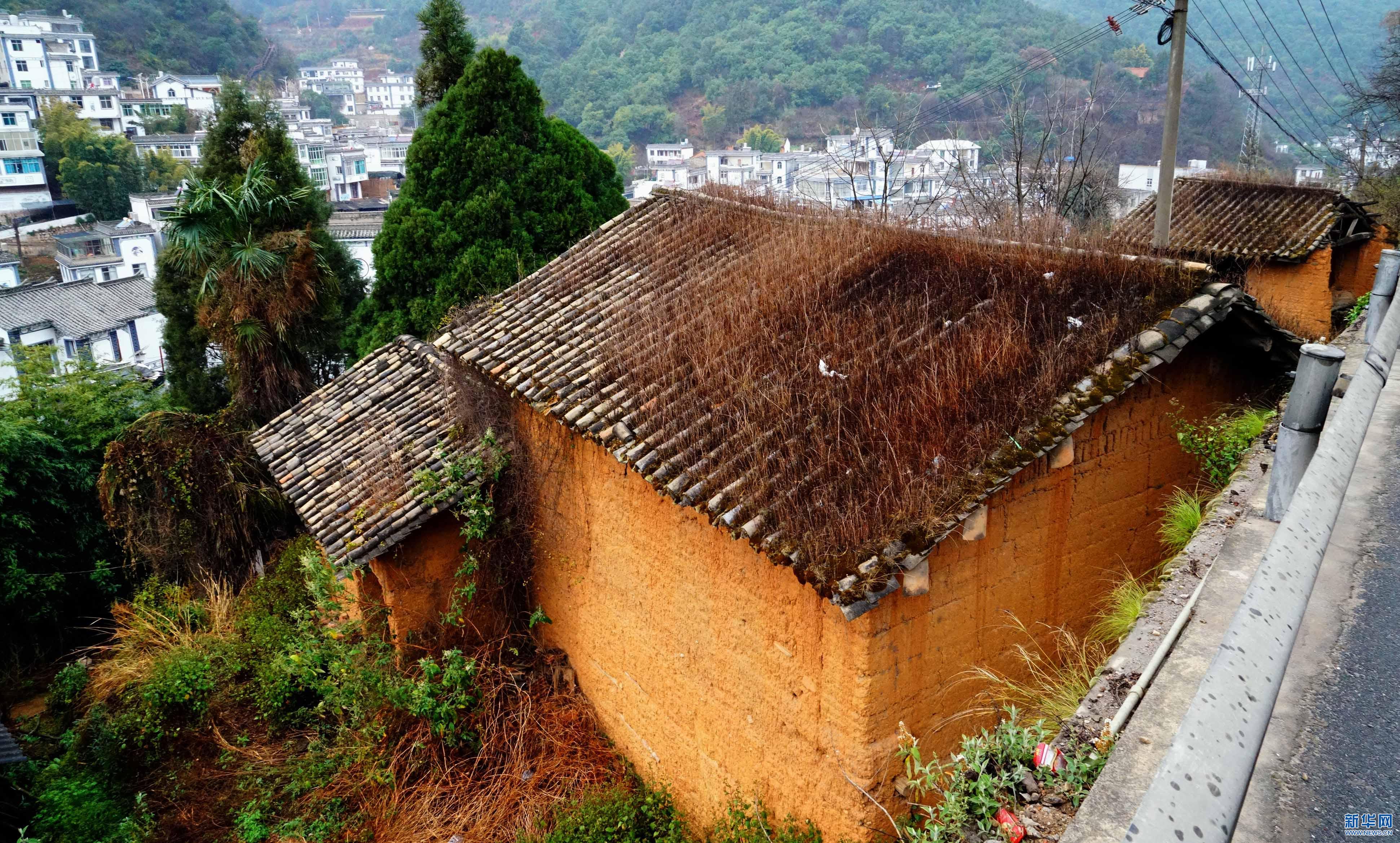 陡坡村旧貌换新颜