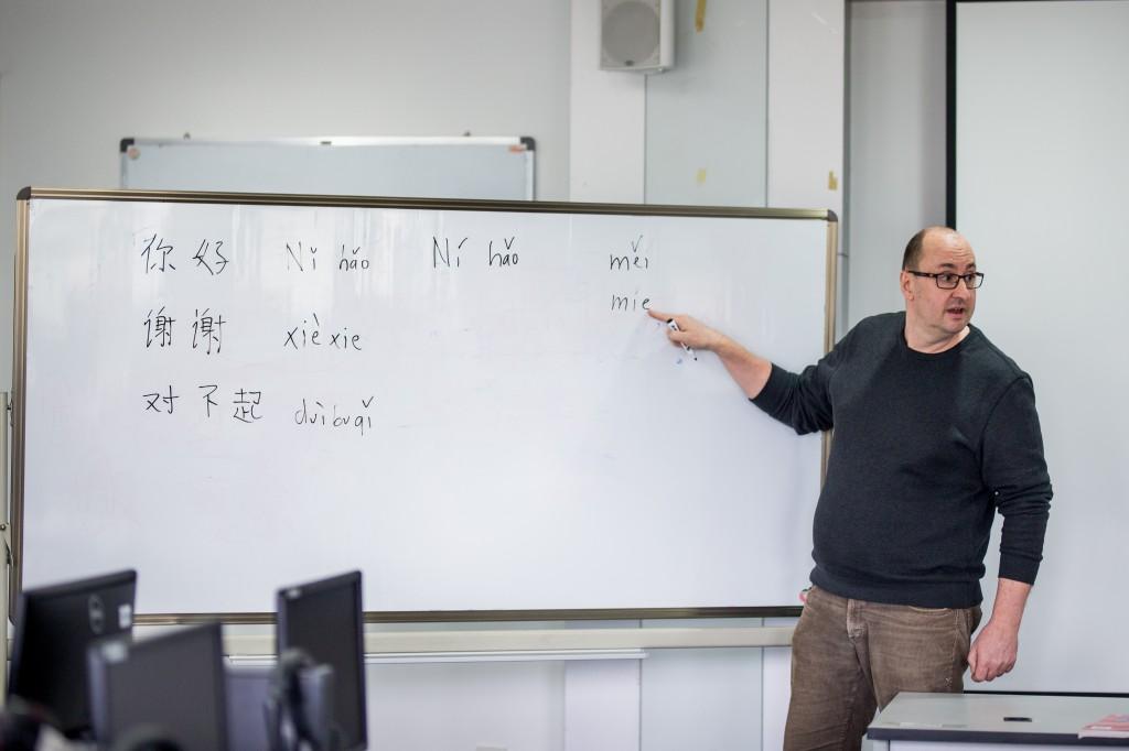 """研究清朝奏折的""""洋人""""在宁波诺丁汉大学教起了中文"""