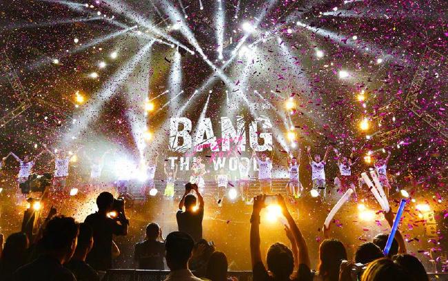 "张靓颖""BANG THE WORLD""演唱会Live上线"