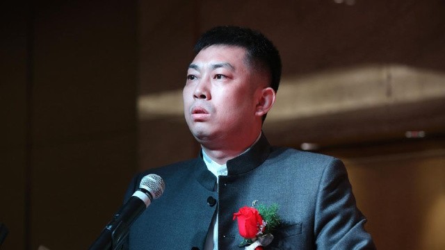中控国融副总经理姜涵先生致辞