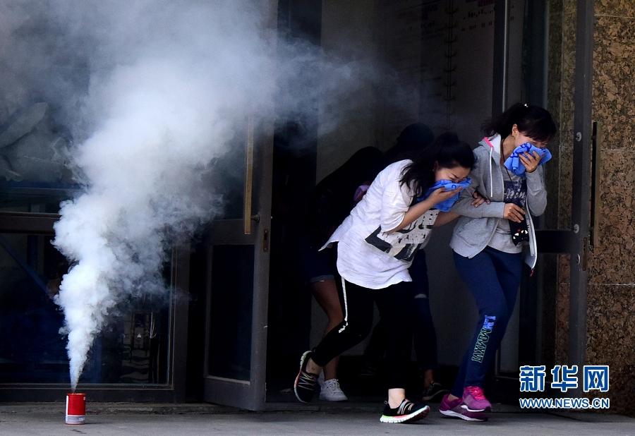 河南举行防灾减灾应急救援综合演练