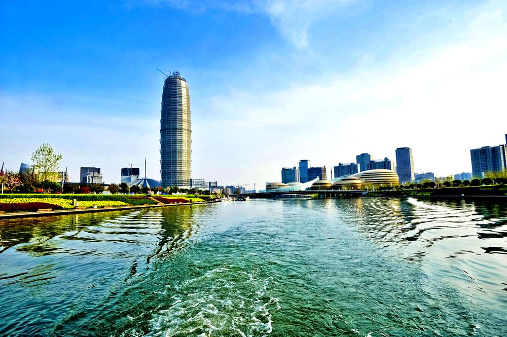 郑东新区如意湖畔 乐享夏日闲情逸致