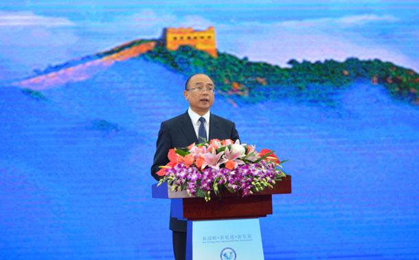 2017中国·廊坊国际经济贸易洽谈会启幕 许勤致辞