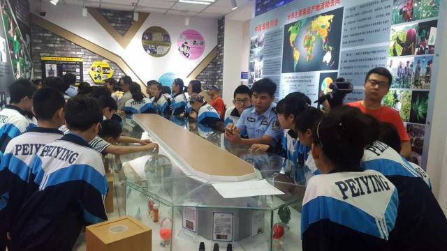 儿童节前夕 沈阳铁西警方组织儿童参观禁毒基地