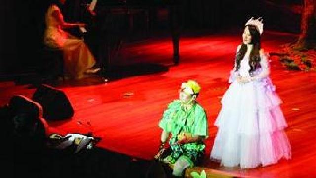 沈阳:80后歌剧社公益演出莫扎特的《魔笛》