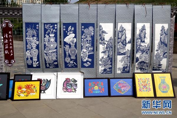200件非遗作品亮相西宁 迎接首个文化和自然遗产日