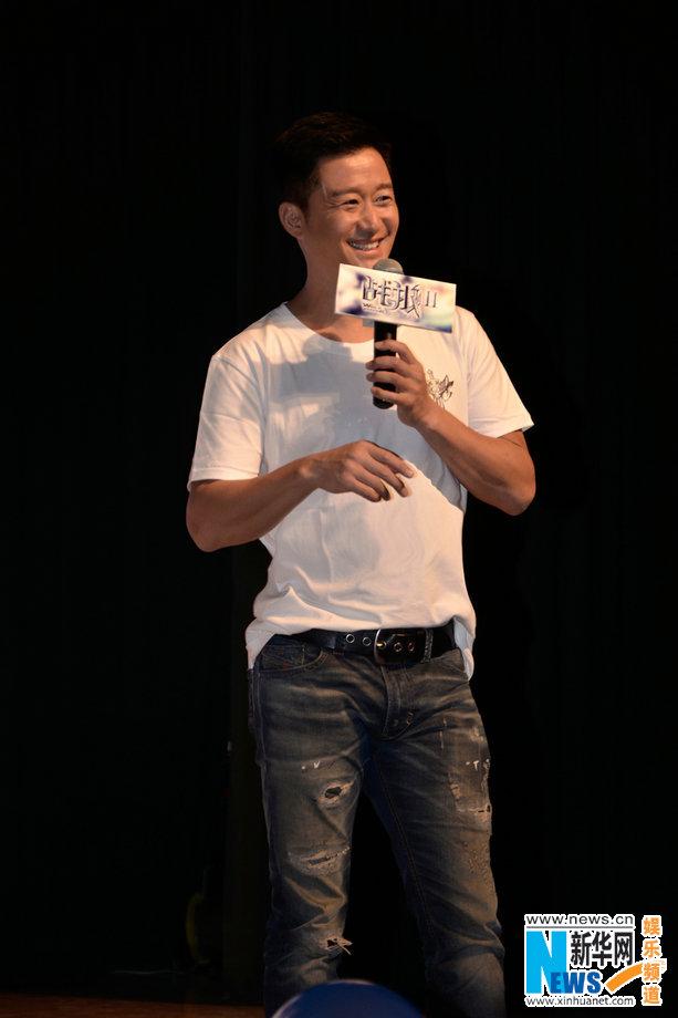 《战狼2》进校园 吴京:演员的身材只属于角色
