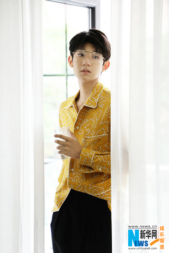 王源时尚大片气质慵懒