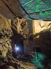 纳粹德国地下秘密隧道变身历史博物馆(图)