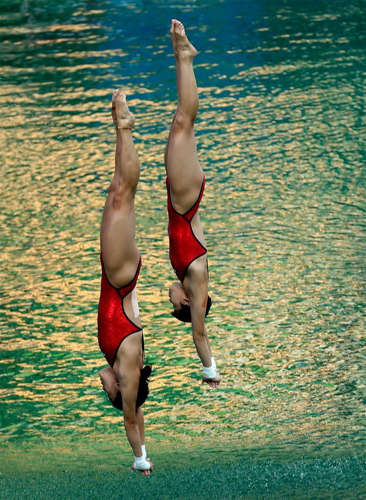 安徽跳水比赛_