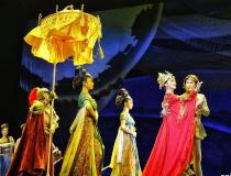 《传丝公主》西安古城上演 感受大唐风范