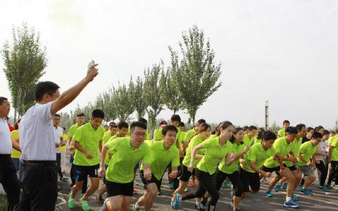 天津市电力行业协会组织公路越野赛