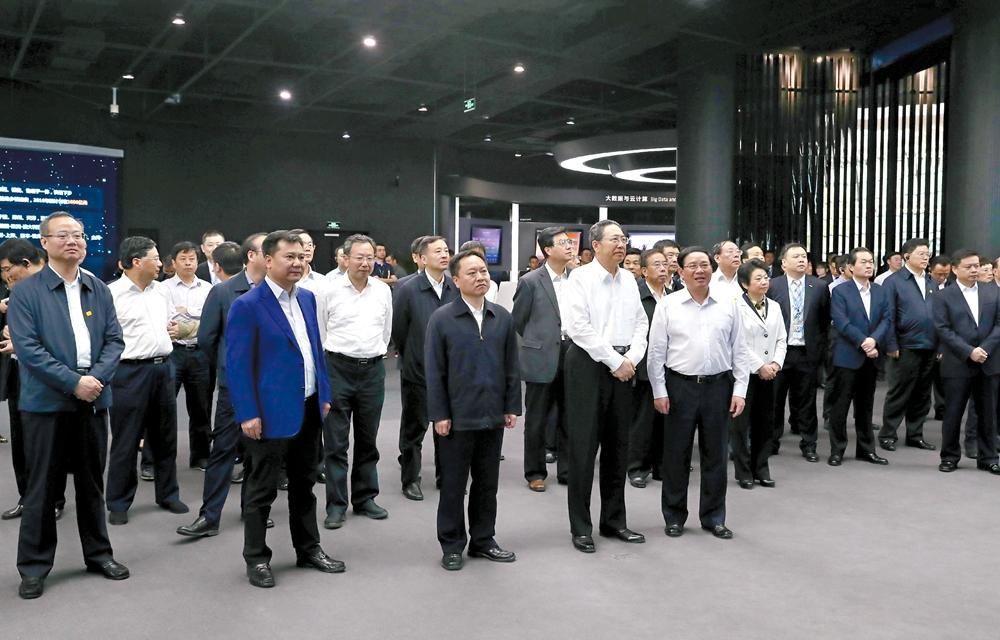 安徽省党政代表团赴江苏学习考察剪影
