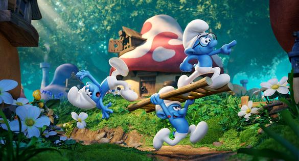 """在最新曝光的 """"萌闯丛林""""预告片中主要角色悉数登场,除了一众小可爱蓝"""