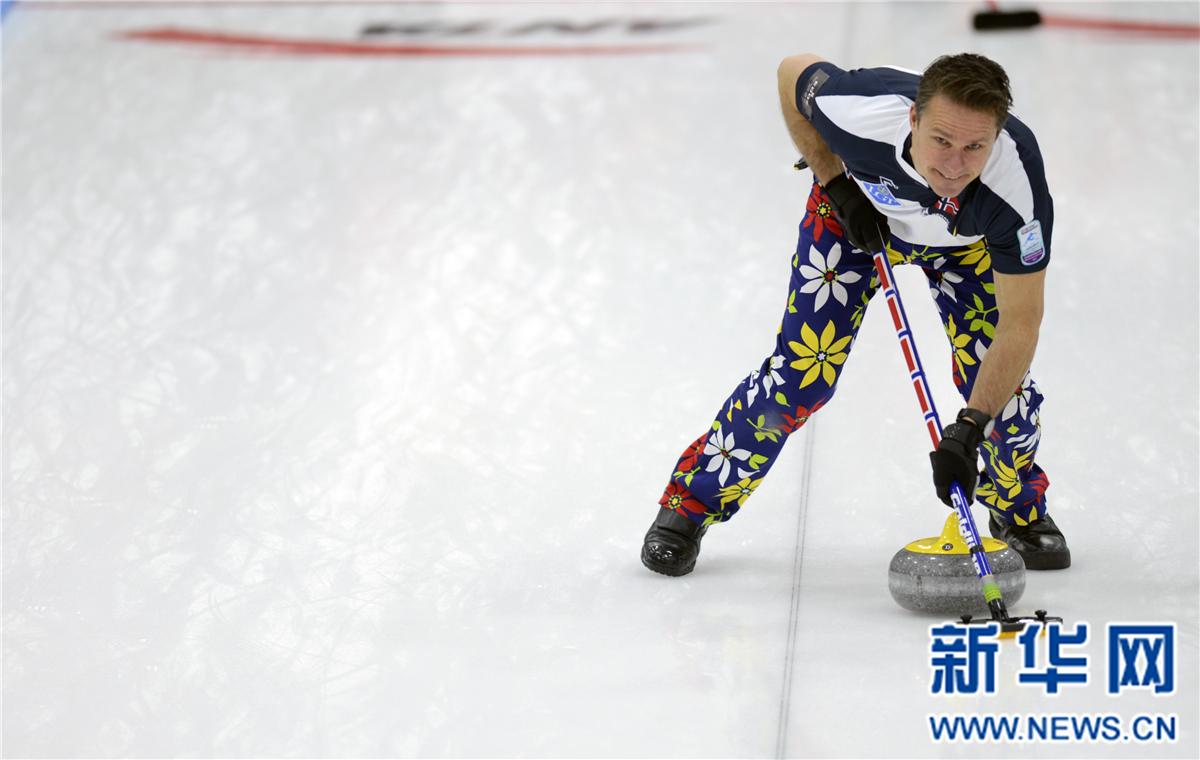 冰壶——国际冰壶邀请赛:挪威男队夺得冠军