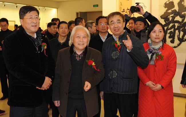 书香传家——李乐武、李培、李婉书画作品展在江苏徐州举行
