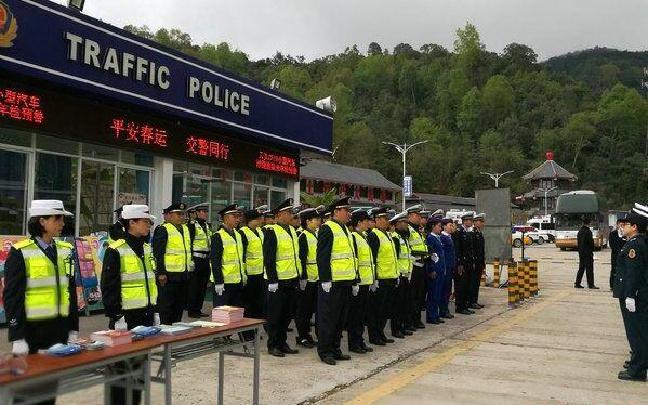 守护——普洱高速公路路政大队为春运保驾护航