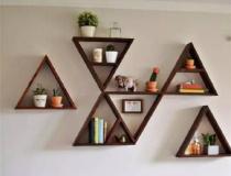 三角家具稳固又有趣 可以有~